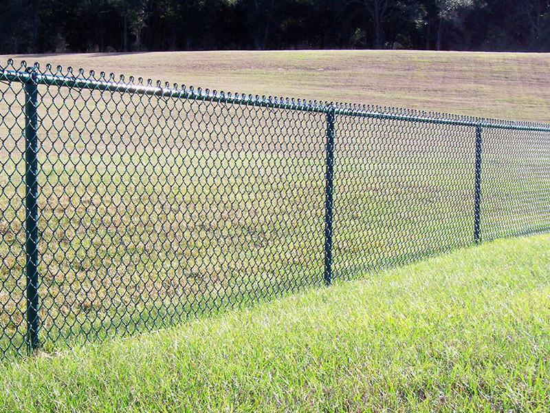 Your best choice--Chain-link fence