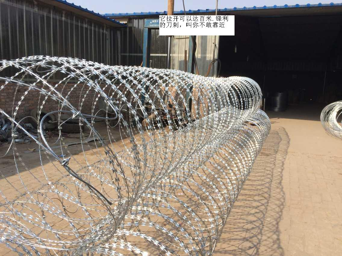 Razor Barbed Wire Mesh Fence for Protection and Defense