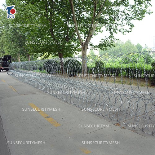Razor Wire Security Barrier System3