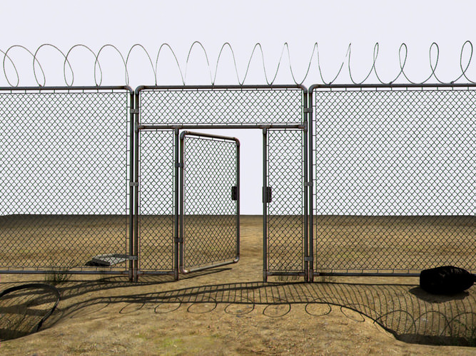 Chain Link Fence-Home and Military Guard
