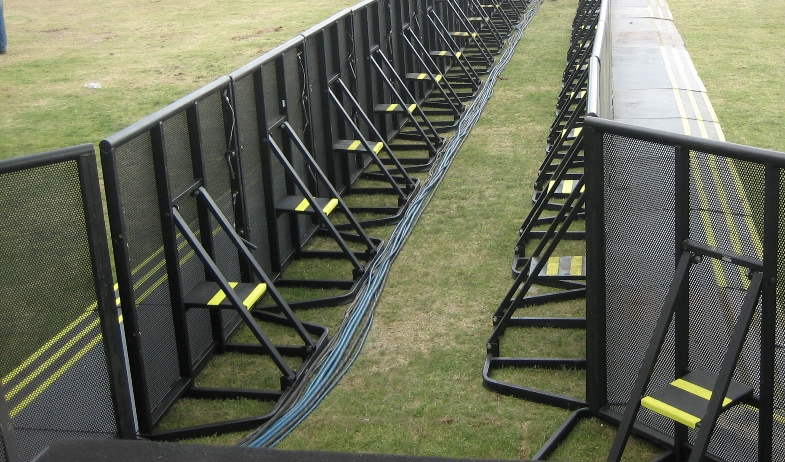 Riot Control Fence-Prevent Tripping Accident
