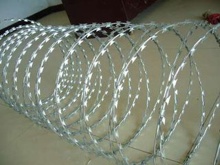 Razor Wire Provide in Zhengyang.