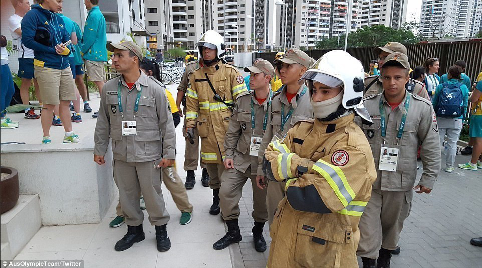 Rio Olympics Athletes' Village Fire: All Athletes are Fine