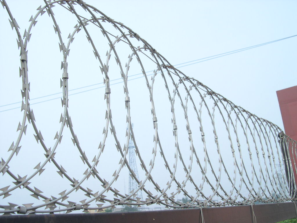 Razor Wire Barrier