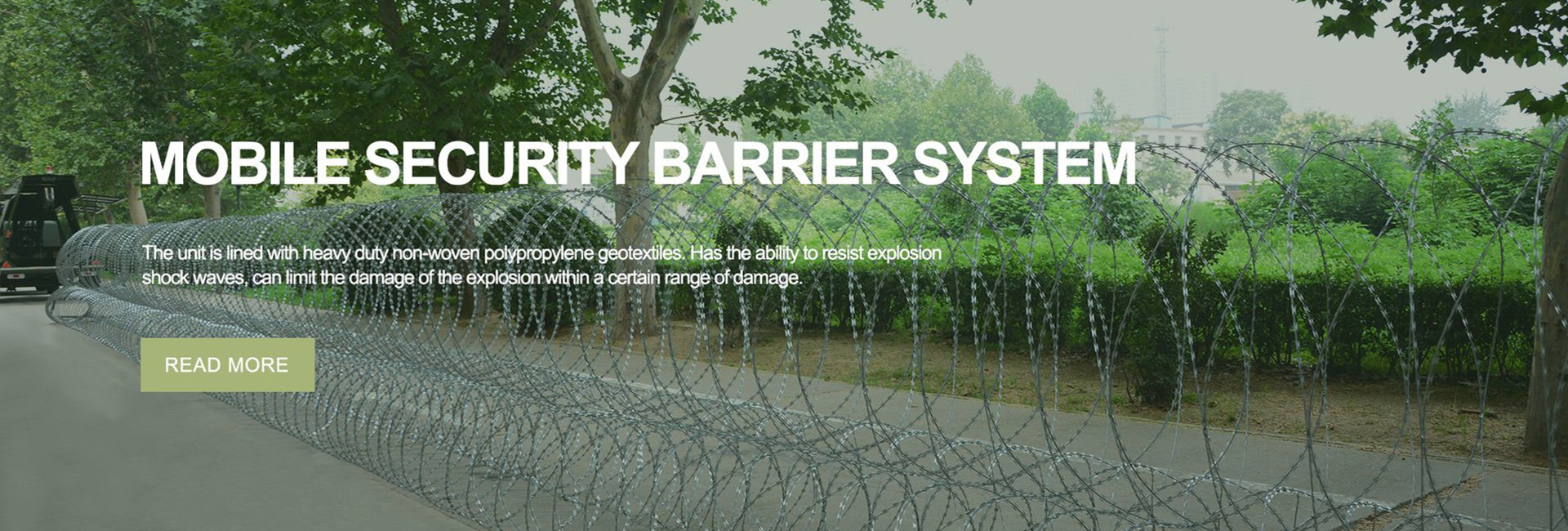 mobile security barrier system